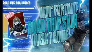 Unlocking The Fortnite Enforcer Skin - Week 7 Challenges