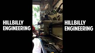 Metal Lathe Crash And FIX! Hafco AL-336D