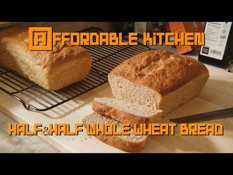 Affordable Kitchen - Half & Half Whole Wheat Bread