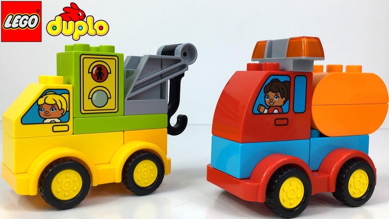 Lego Duplo Stadt Abgerissen Von Cat Baufahrzeuge Hydraulikbagger