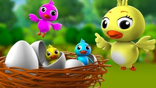 Chidiya Ka Anda 3D Animated Hindi Moral Stories for Kids चिड़िया का अंडा कहानी Tales Egg Stories