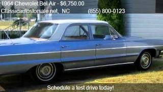 1964 Chevrolet Bel Air  - for sale in RALEIGH, NC 27603 #VNclassics