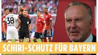 Rummenigge fordert Schiri-Schutz für Bayern-Stars