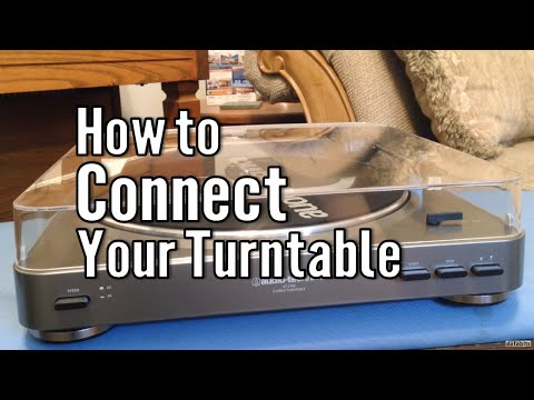 How to Connect a Turntable to Speakers
