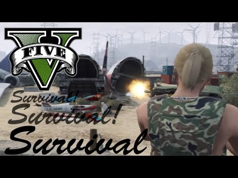 GTAV Online - NGG ps3 Event - Survival @ Bone Yard - 10/6/13