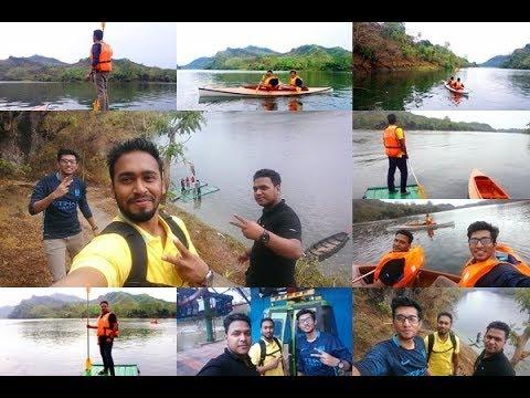 kayaking    Cable Car    Kaptai Tour 2017