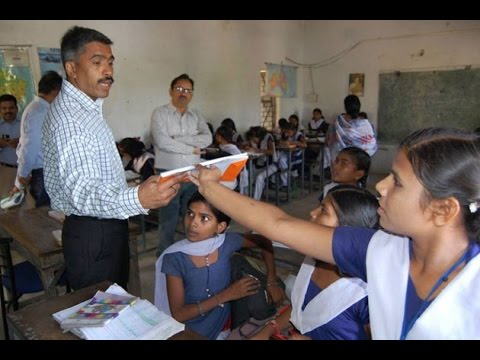 first time in india ias officer teach govt school indore