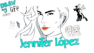 Jennifer López - Draw my life en español CLB Life