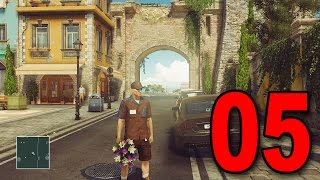 Hitman 2016 - Part 5 - SAPIENZA ITALY (Episode 2 Let