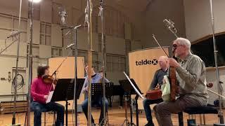 Cuarteto Casals, Beethoven quartet. Recording Session in Berlin.