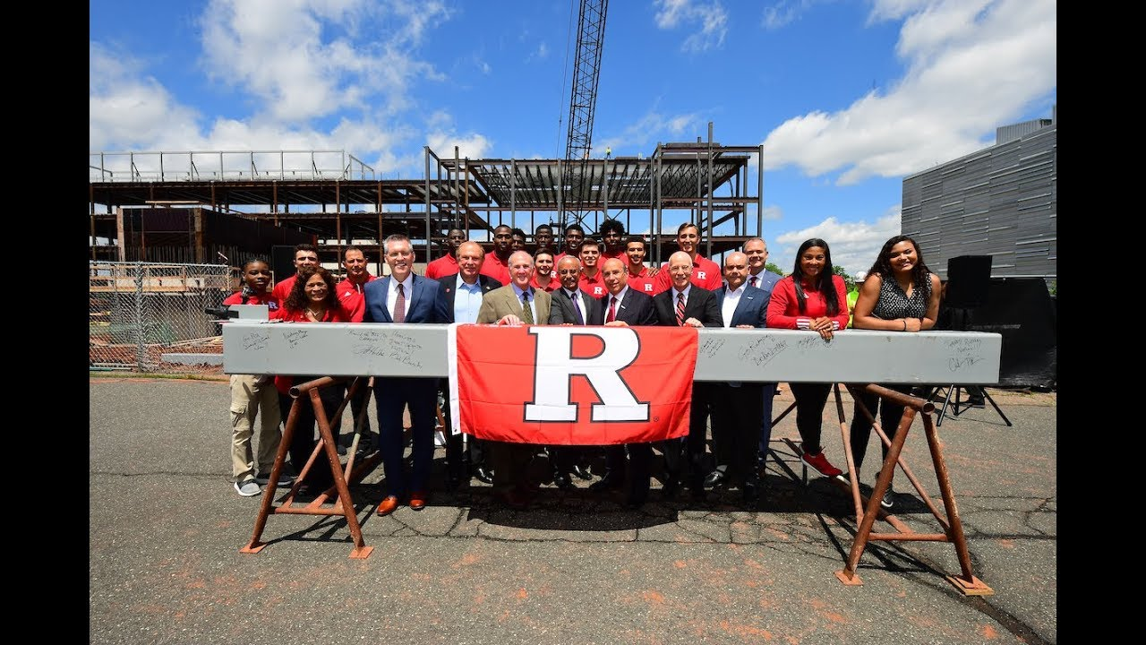 RVision: RWJBarnabas Health Athletic Performance Center Topping Off Ceremony