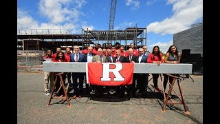 RVision: RWJBarnabas Health Athletic Performance Center Topping Off Ceremony thumbnail