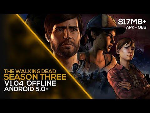 The Walking Dead: Season Three V1.04 APK MOD + OBB (Mod Unlocked) Gameplay + Download