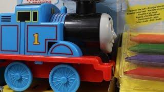 Tomek i Przyjaciele - Fisher-Price - Thomas Bath Crayons / Tomek i Kredki do Kąpieli - DGL05