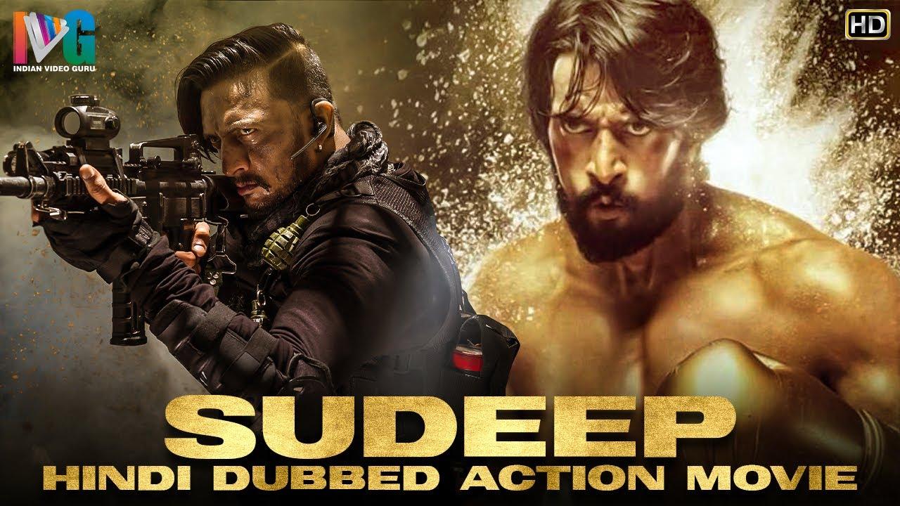 Download Sudeep Hindi Dubbed Action Movie HD   South Indian Hindi Dubbed Movies 2020   Indian Video Guru