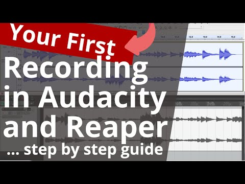 Reaper Tutorial: Make Your First Recording Step-By-Step