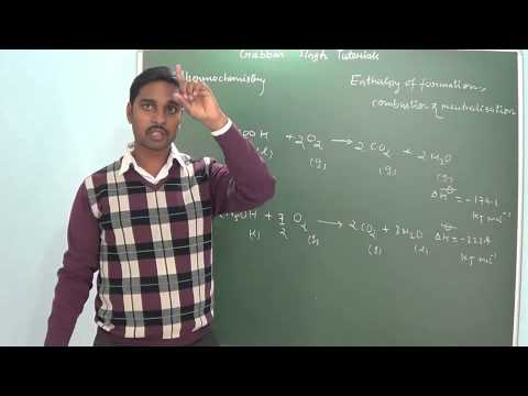 2.6 Enthalpy of formation, combustion & neutralisation (Thermochemistry) (Chemistry class 11 and 12)