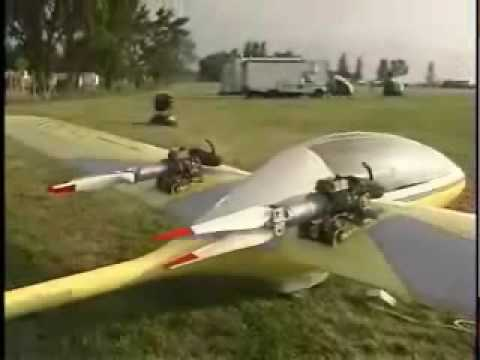 Aero Dovron Espritultralight motor glider, experimental aircraft
