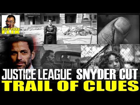 JUSTICE LEAGUE: ZACK SNYDER Leaves A Trail Of Clues?