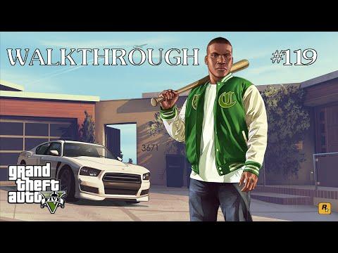 Grand Theft Auto V - 100% Walkthrough Part 119 [PS4] – Spaceship Parts 26-50
