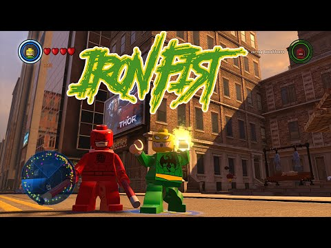 Lego marvel superheroes how to get iron fist