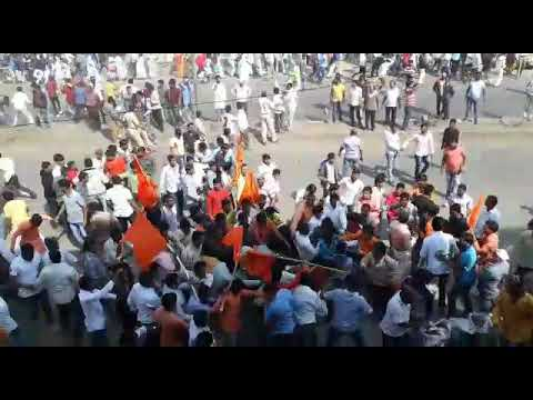 Shivsena vs jay bhim force action on road(6)