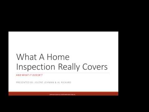 PEAK Agent Training Home Inspections