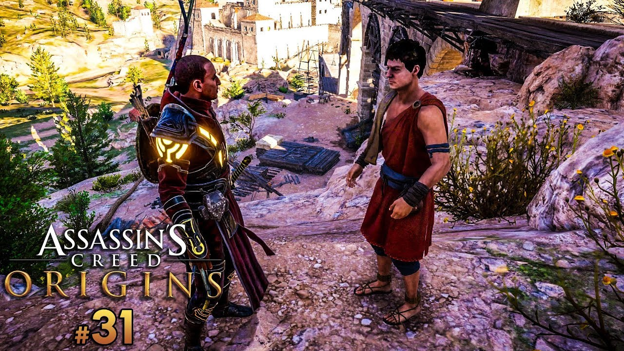 Assassin's Creed Origins PL – UĆPANY TYP! #31 | PC 1080p60fps | Vertez