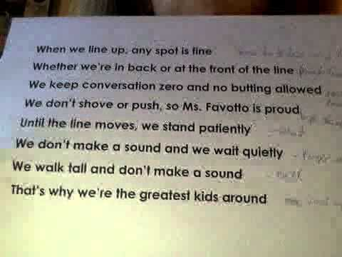 School Rules Song