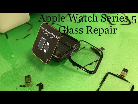 Apple Watch Series 5 Glass Repair