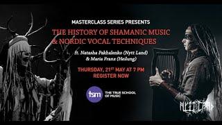 Maria Franz (Heilung) & Natasha Pakhalenko (Nytt Land) - Shamanic Music & Nordic Vocal Techniques