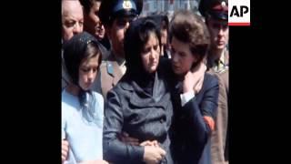 Beisetzung der Sojus 11 Kosmonauten an der Kreml Mauer
