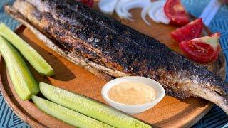 Универсальный рецепт как готовить рыбу на мангале, углях или на гриле. Готовим Вкусно