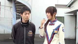 2010年2月9日 近畿地区選手権競走に出場中の4379西村拓也選手 ピットイ...