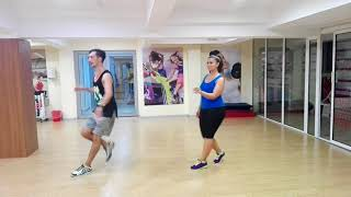Cuando Me Enamoro -  Enrique Iglesias y Juan Luis Guerra zumba Choreo by Paul Borchescu