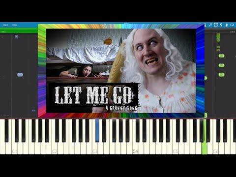Granny Song - Let Me Go - Piano Cover / Tutorial - Random Encounters