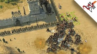Stronghold Crusader 2 - 4P Unleash the Madness | Multiplayer Gameplay