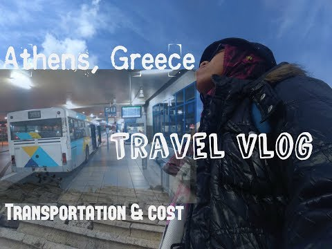 Athens, Greece Day 1: Cost & Transportation