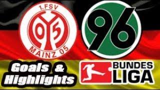 Mainz 05 vs Hannover 96 - 2018-19 Bundesliga Highlights #14