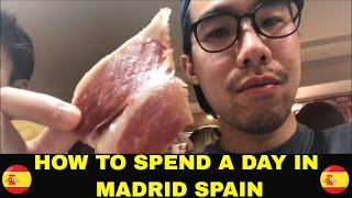Gambar cover The 1 Day Madrid Spain Travel Guide