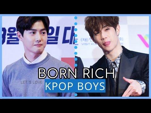 17 Kpop BOYS Born in RICH FAMILIES