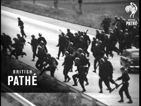 France - Paris Riots (1968)