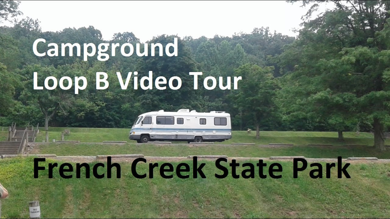 Video Tour Of French Creek State Park Pa Campground Loop B