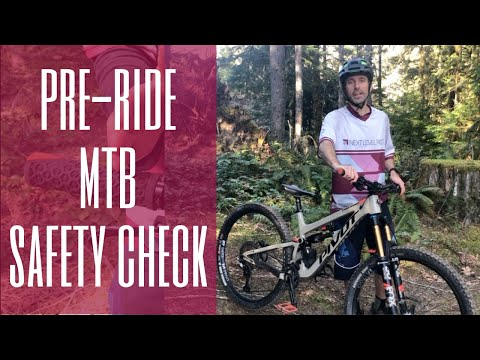 Mountain Bike Pre Ride Safety Check (Lesson 1)