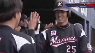 ファイターズ対マリーンズ(鎌スタ)の試合ダイジェスト動画。 2019/03/06...