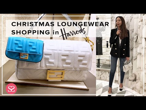 Christmas Shopping at Harrods 2020 – FENDI SALE INFO, LUXE LOUNGEWEAR + HAUL & MAILTIME