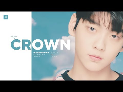 TXT - Crown Line Distribution (Color Coded)
