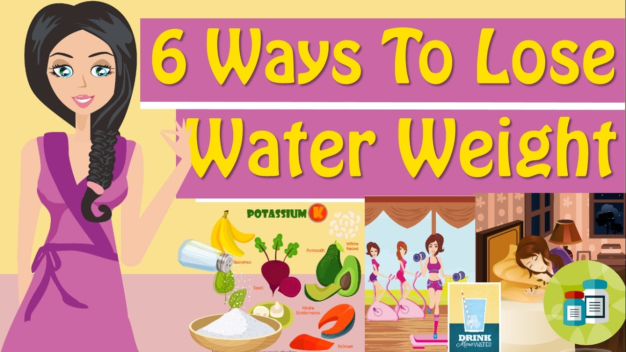 How to get rid of bloating and water weight