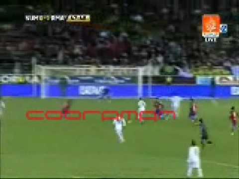 ريال مدريد 2 - 0 نومانسيا  31/1/2009