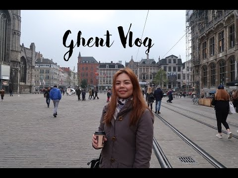 Ghent Vlog (Europe Trip 2016) | Denise Yalung